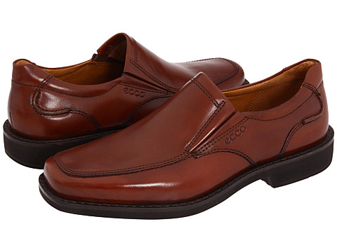 Pantofi ECCO - Seattle Slip On - Cognac Smooth Full-Grain Leather