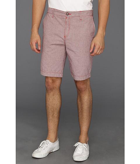 Pantaloni Ted Baker - Rewfus Mini Dogtooth Short - Red