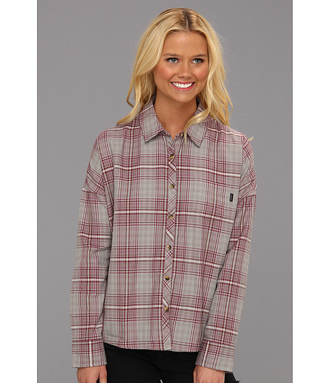 Camasi Vans - Pledge Plaid Woven Shirt - Frost Grey