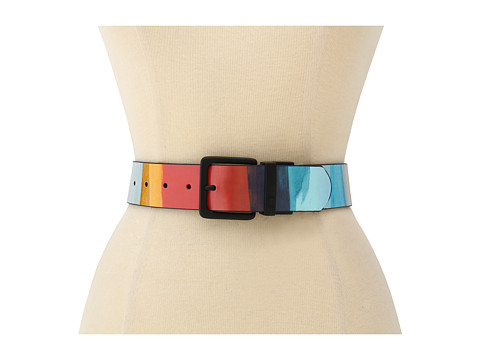 Curele Vans - Prado Leather Belt - Reinvent Red Stripe