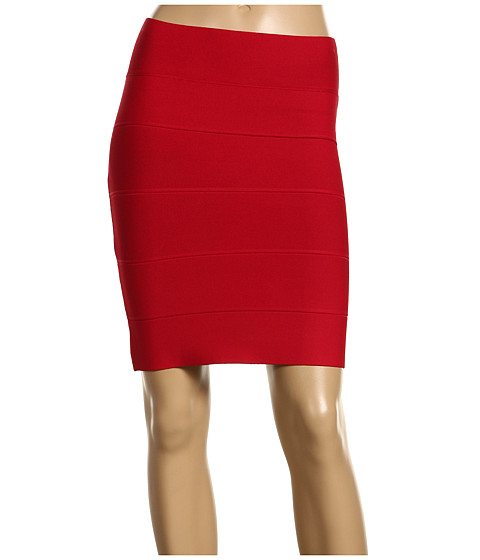Fuste BCBGMAXAZRIA - Simone Bandage Skirt - New Red