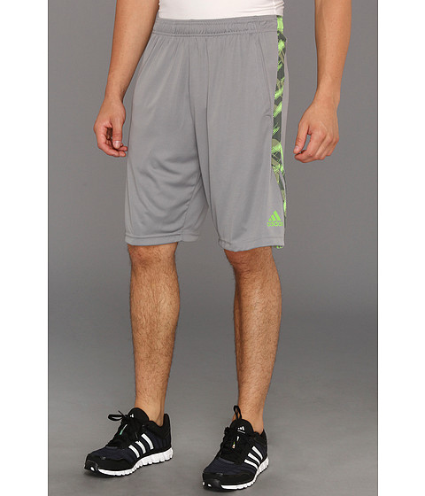 Pantaloni adidas - Ultimate Swat Short Pieced-In Graphic - Tech Grey/Ray Green