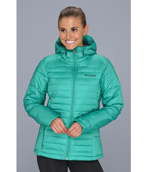Jachete Columbia - Powder Pillow Jacket - Bright Emerald