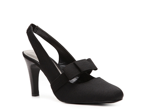 Pantofi Ann Marino - Laughter Slingback Pump - Black