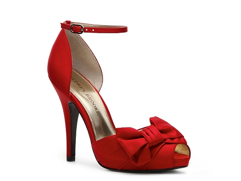 Pantofi Audrey Brooke - Earth Platform Pump - Red