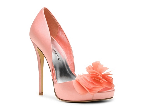 Pantofi Audrey Brooke - Easton Platform Pump - Coral