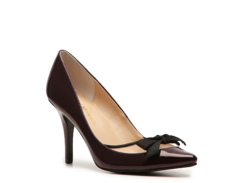 Pantofi Audrey Brooke - Millie Pump - Burgundy