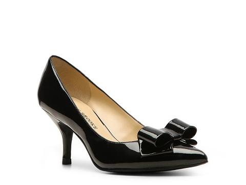 Pantofi Audrey Brooke - Mary Patent Pump - Black