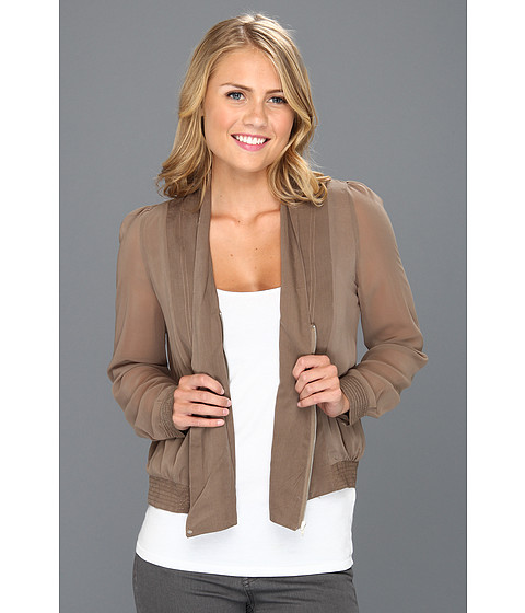 Jachete Brigitte Bailey - Alaya Woven Jacket - Taupe