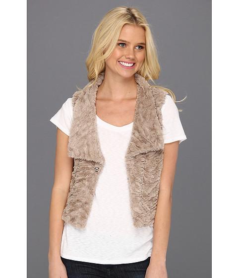 Jachete Brigitte Bailey - Ginah Faux Fur Vest - Taupe