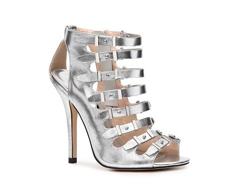 Pantofi Heart Soul - Desiree Bootie - Silver