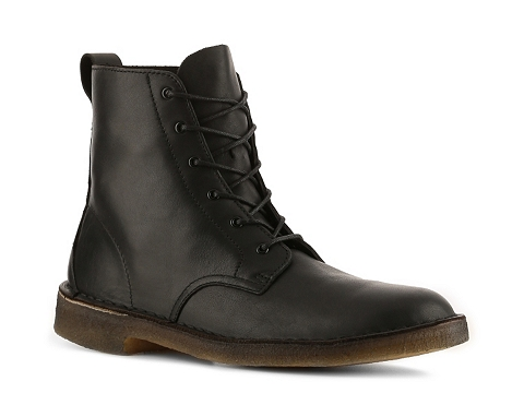 Ghete Clarks Originals - Desert Mali Boot - Black