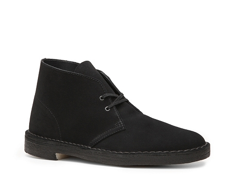 Pantofi Clarks Originals - Desert Boot - Black