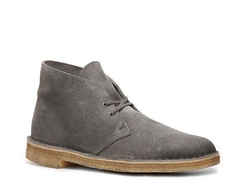 Ghete Clarks Originals - Desert Boot - Grey
