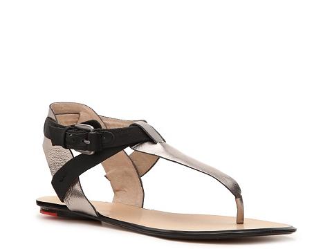Sandale Joes - Joes Kandy Flat Sandal - Silver/Black