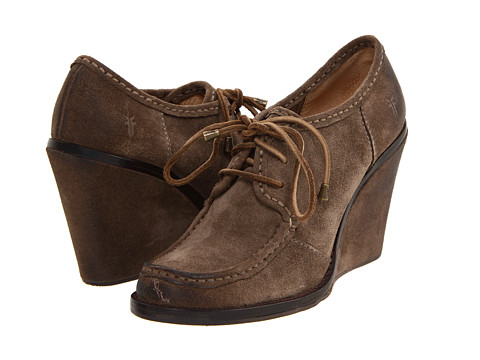 Pantofi Frye - Caroline Low Lace - Fatigue Suede