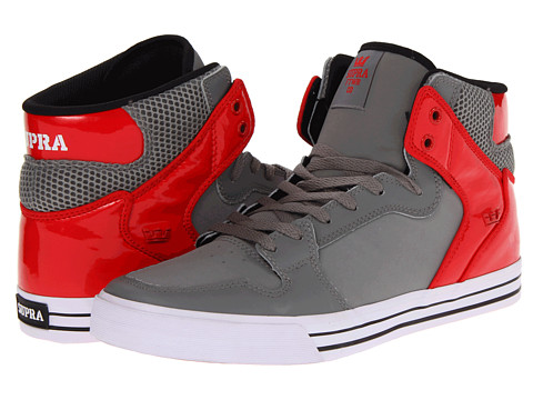 Adidasi Supra - Vaider - Grey/Red/White