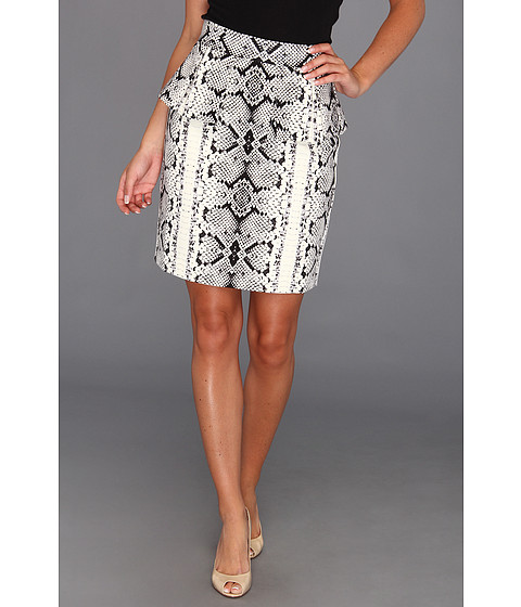 Fuste Nanette Lepore - Dress-Up Skirt - Ivory Multi