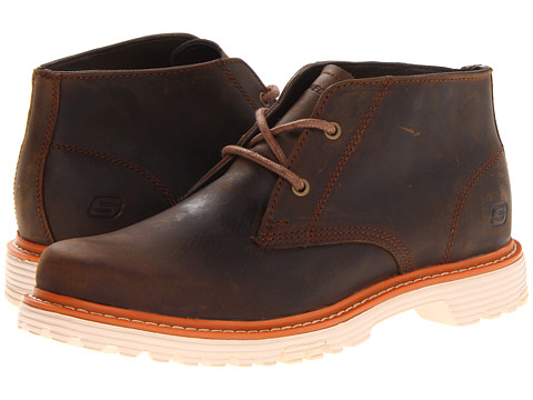 Ghete SKECHERS - Classix - Belfort Simon - Dark Brown