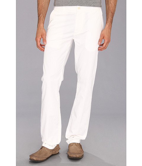 Pantaloni John Varvatos - Flap Back Pocket Pant - White