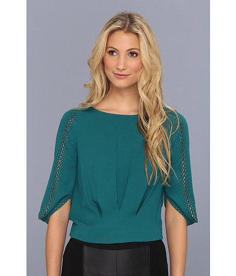 Bluze BCBGMAXAZRIA - Marlene Studded Top - Jewel Green