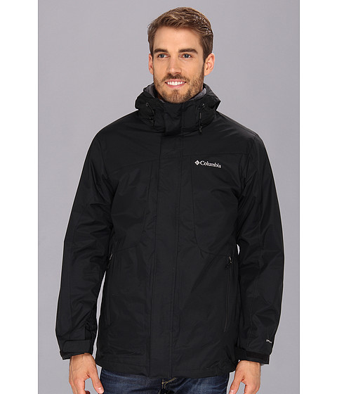 Jachete Columbia - Eager Air II Interchange Jacket - Black