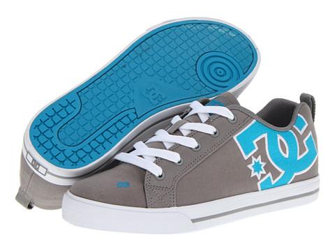 Adidasi DC - Court Graffik Vulc TX W - Light Grey/Turquoise