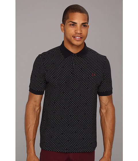 Tricouri Fred Perry - Tipped Dot Polo - Navy