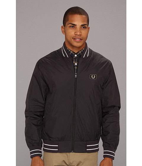 Jachete Fred Perry - Tipped Bomber Jacket - Anchor Grey