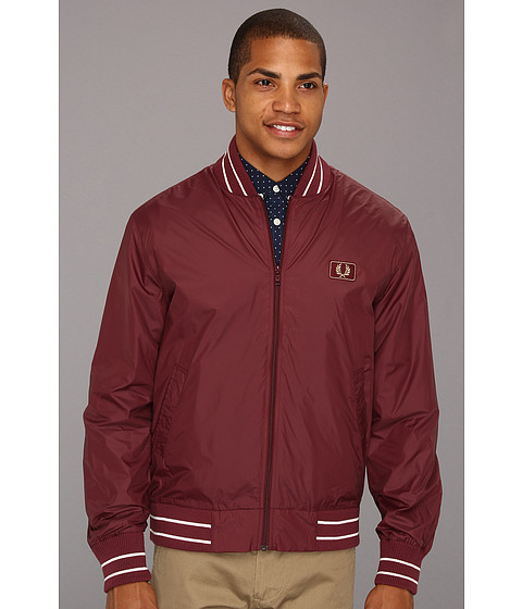 Jachete Fred Perry - Tipped Bomber Jacket - Port