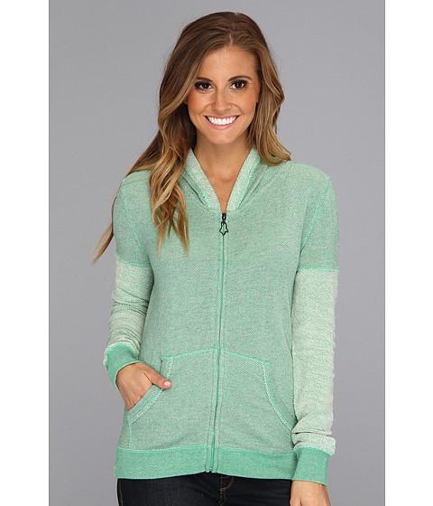 Bluze Fox - Elate Zip Hoody - Acid Green