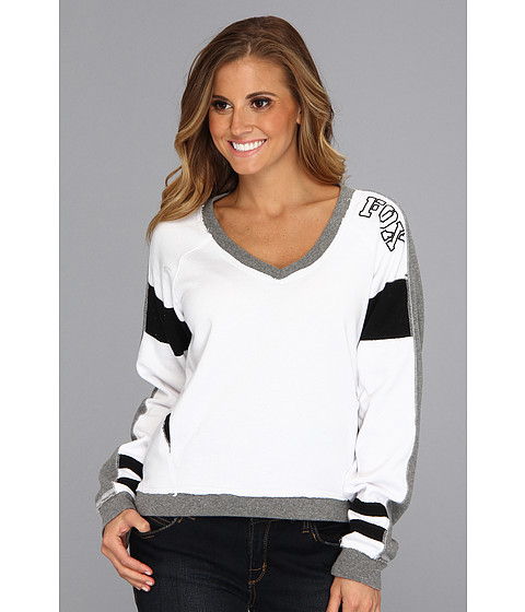Bluze Fox - Activation Pullover - White