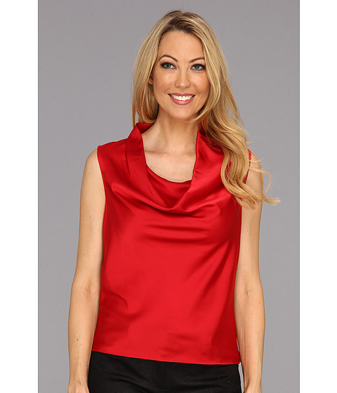 Tricouri Calvin Klein - Drape Neck Cami - Red