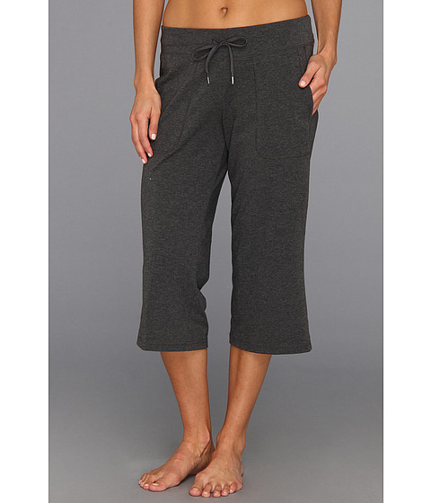 Pantaloni New Balance - Jersey Capri - Heather Charcoal