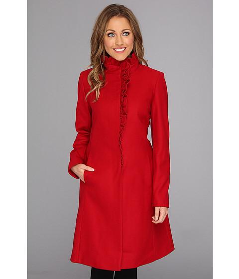 Jachete DKNY - Ruffle Walker Coat - Scarlett