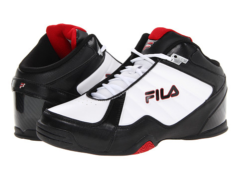 Adidasi Fila - Leave It On The Court - White/Black/Fire Red