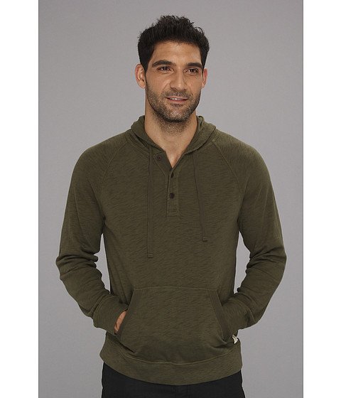 Bluze Lucky Brand - Indian Hoodie - Olive Night