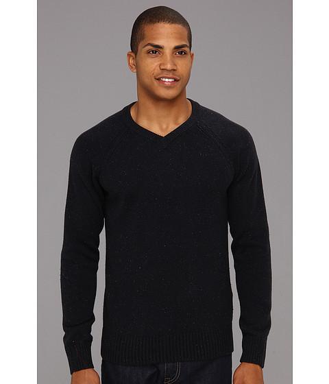 Bluze Lucky Brand - Vista V-Neck Sweater - American Navy