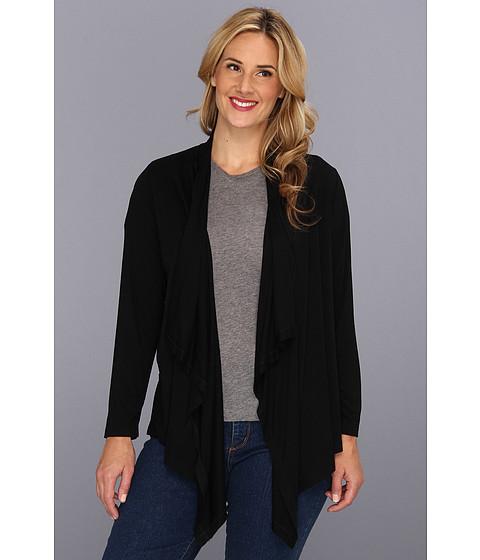 Jachete Karen Kane - Plus Size L/S Drape Jacket - Black