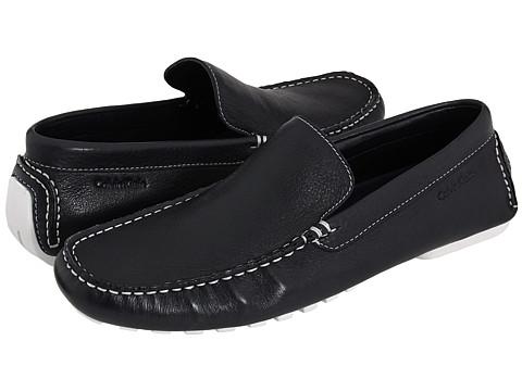 Pantofi Calvin Klein - Deauville - Navy/White Leather