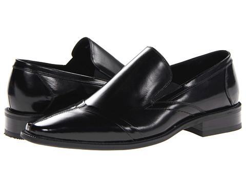 Pantofi Stacy Adams - Robbins - Black Buffalo Leather