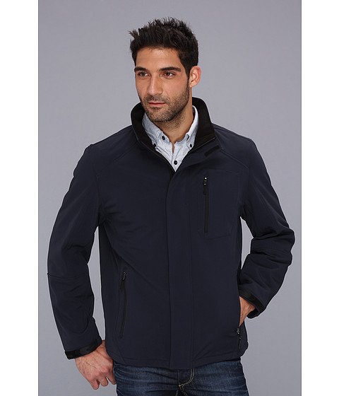 Jachete Calvin Klein - Soft Shell Jacket CM303723 - Atlantic Blue