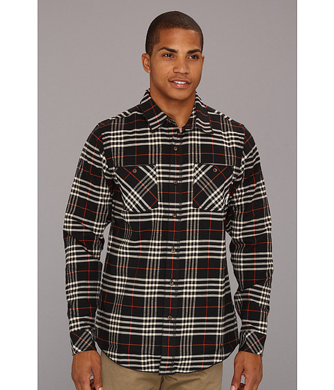 Bluze adidas - Silas Flannel Shirt - Black