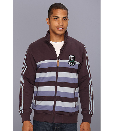 Jachete adidas - Gonz Track Top - Shade Grey/Night Burgundy