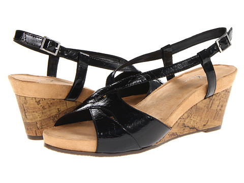 Sandale Aerosoles - Stoplight - Black Croco