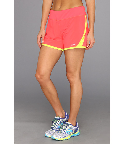 Pantaloni New Balance - Hybrid Solid Short - Diva Pink