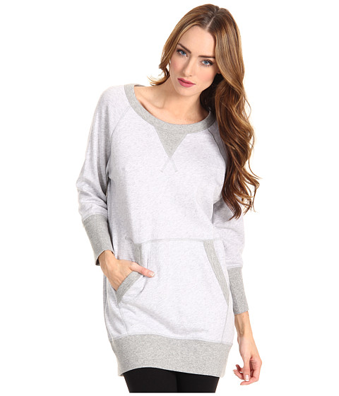 Bluze adidas - FT Light Tunic - Light Grey Heather