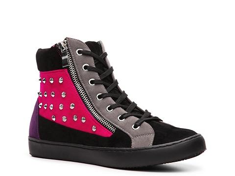 Adidasi Wanted - Bryant Hightop Sneaker - Black