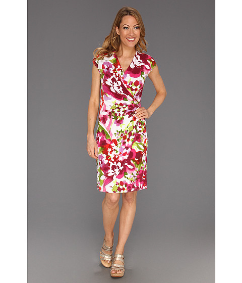 Rochii Tommy Bahama - Macapa Floral Dress - Rose Bed