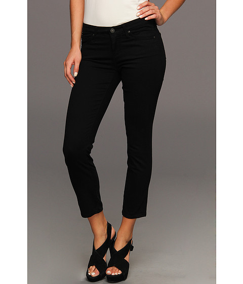 Blugi AG Adriano Goldschmied - Stilt Crop Sateen in Super Black - Super Black